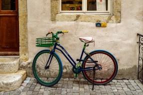 Blaues Martone Fahrrad
