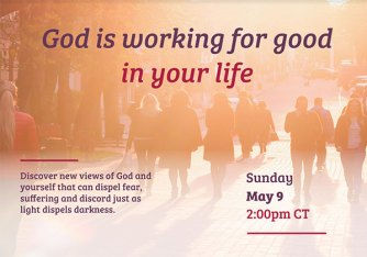 God Is Working For Good In Your Life