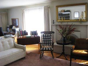 Living Room at Redwood Community