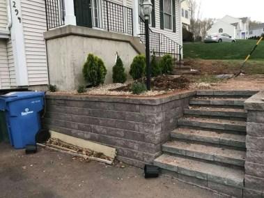 Landscape Design Stairs & Shrubs.4