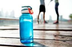 Drinking plenty of fluids will help with muscle soreness recovery.