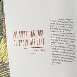 The Changing Face of Youth Ministry