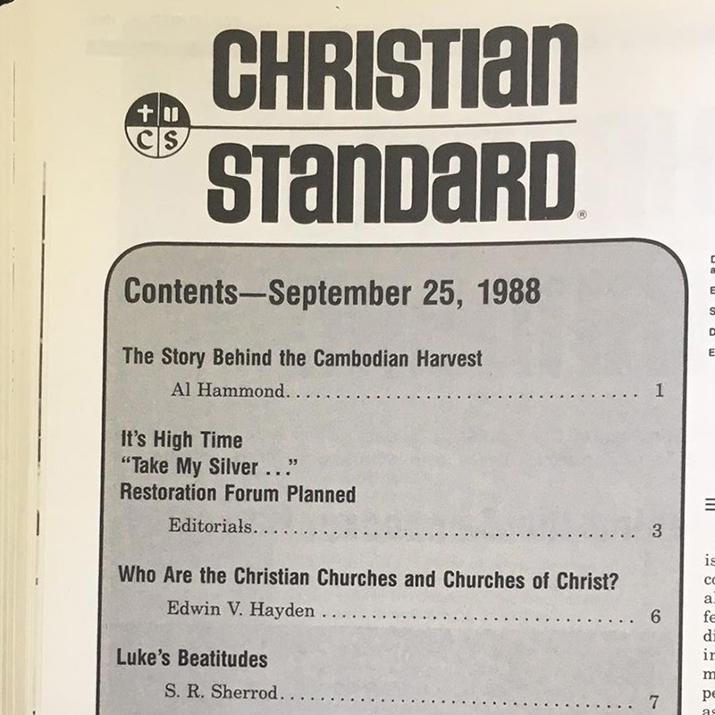 'Who Are the Christian Churches and Churches of Christ?'