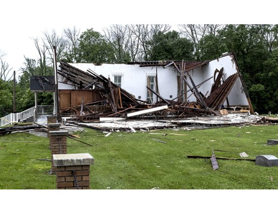 Indiana Church's Mounting Challenges Started with Tornado
