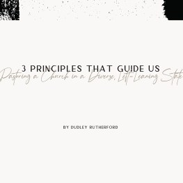 Pastoring a Church in a Diverse, Left-Leaning State:  Three Principles That Guide Us