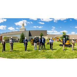 Christian Village at Mason Breaks Ground for Stone Worship Center and Auditorium