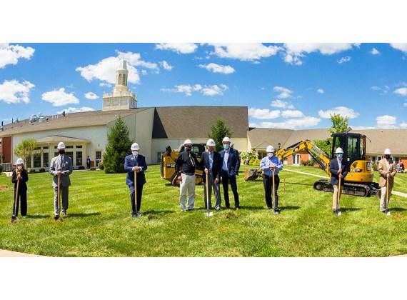 Christian Village at Mason Breaks Ground for Stone Worship Center and Auditorium