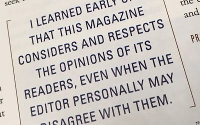 Sam E. Stone: Reflecting on 25 Years as Editor
