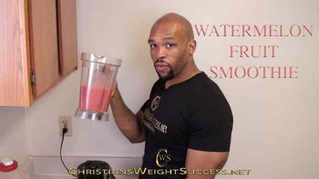 twitter-Watermelon Fruit Smoothie