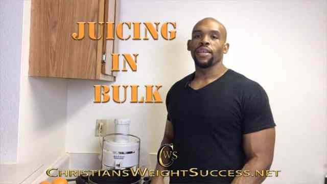 JUICING IN BULK