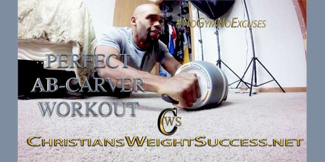perfect ab-carver workout ChristiansWeightSuccess.net