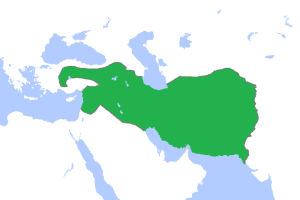The Seleucid Empire in 301 BC. This is the region from which the Antichrist will emerge. Source: wikipedia.org.