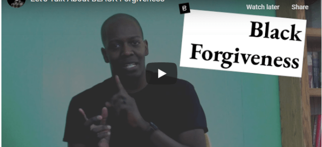 John Stapleton on Black Forgiveness
