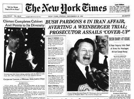 Bush Pardons Six