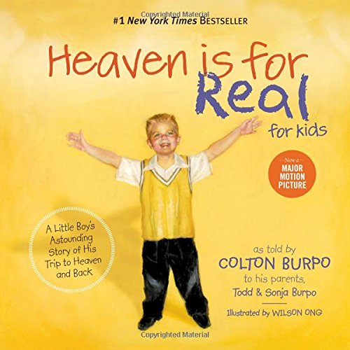 heaven is for real, one of the books about heaven for kids