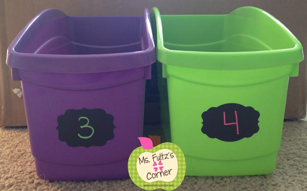 Classroom library book bins review Really Good Stuff and Steps Into Literacy