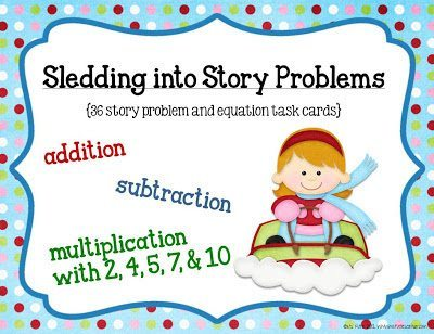 http://www.teacherspayteachers.com/Product/Sledding-Into-Story-Problems-Math-Game-Cards-416692