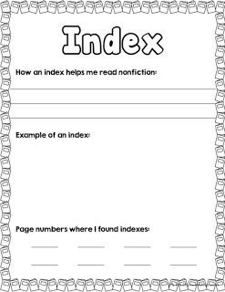 http://www.teacherspayteachers.com/Product/Nonfiction-Text-Features-Book-with-Matching-Cards-930497