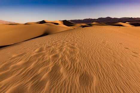 Nordamerika, USA, Californien, Death Valley – Mesquite Flat Sand Dunes