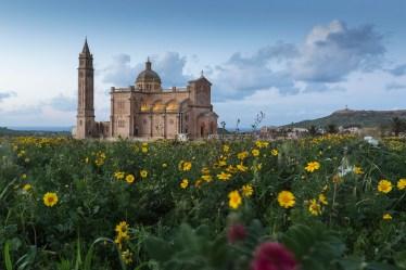 Europa, Malta, Insel Gozo, TA Pinu Basilika romanische Kirche Victoria (Rabat)