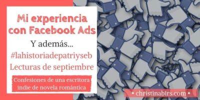 Mi experiencia con Facebook Ads