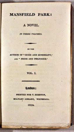 primera-edición-mansfield-park-portada-jane-austen-una-autora-indie-en-la-inglaterra-de-la-regencia-christina-birs