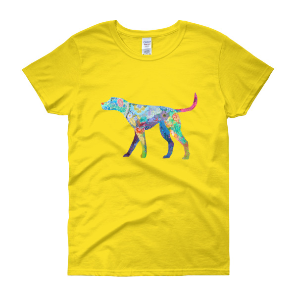 Happy Dog Ladies Tee