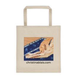 Liberty Tote Bag - Yoga Dog