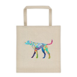 Liberty Tote 2 Sided Happy Dog