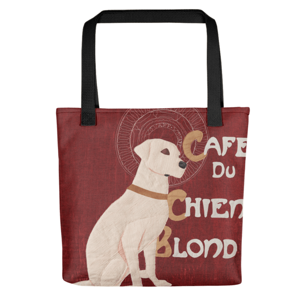 Chien Blond – All-Over Tote bag