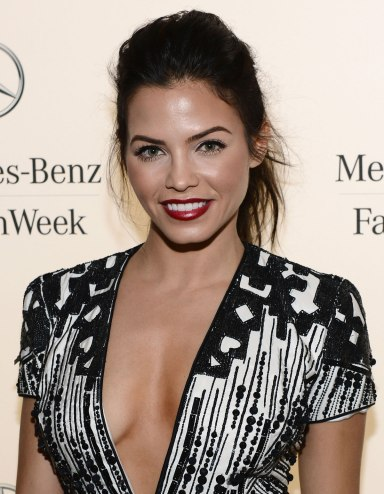 JENNA DEWAN TATUM at Fashion Week
