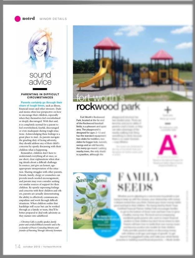 Article DFW Child 2012
