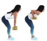 Back Row Back Fat Exercise being done by Christina Carlyle