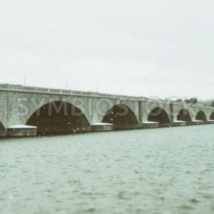 Arlington Memorial Bridge Potomac Snow DC (6).JPG - Christina Chee