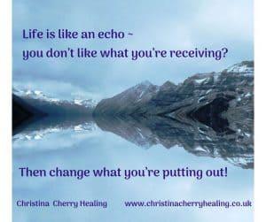 Manifesting; focus on positives