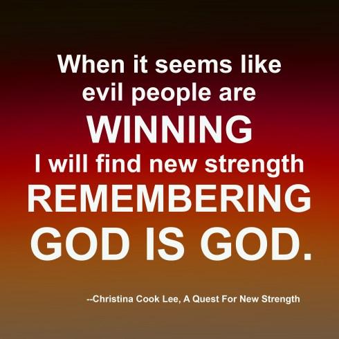 New Strength, September 19