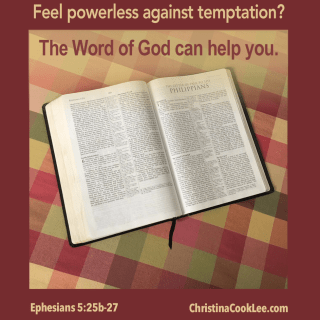 Feel powerless against temptation?