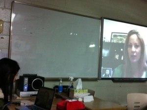 Skyping with Seoul Foreign School