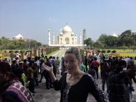 I made it to the taj