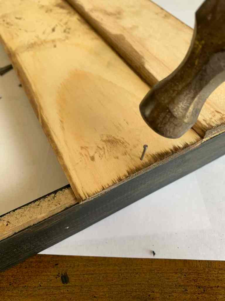 Attaching Wood to Back