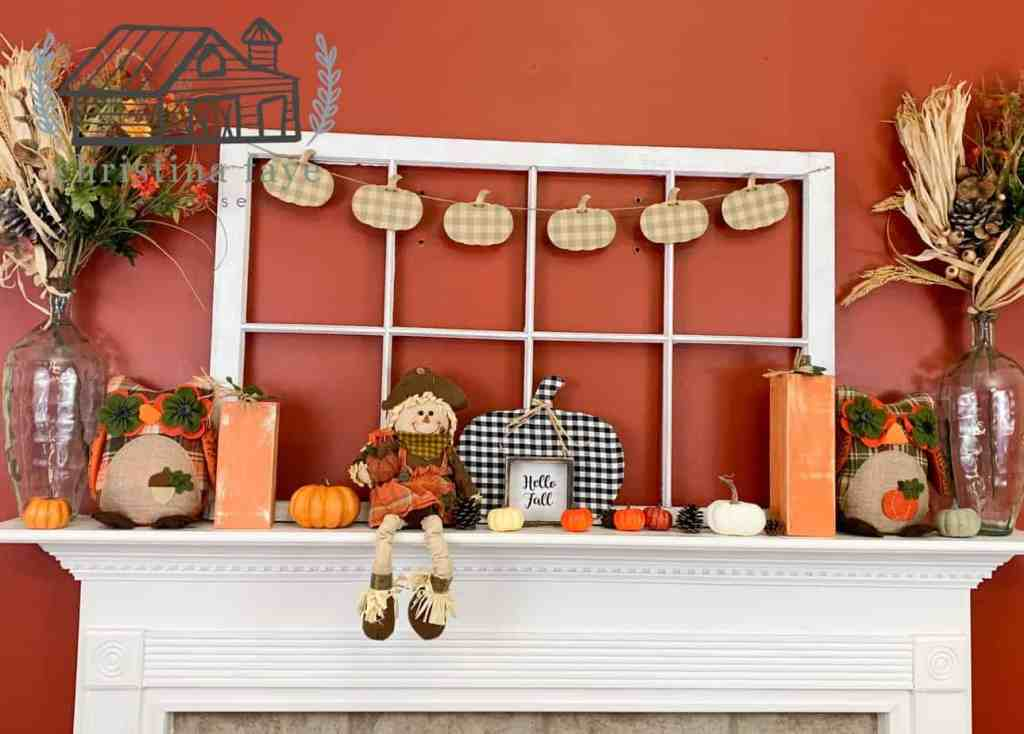 Completed Fall Mantel