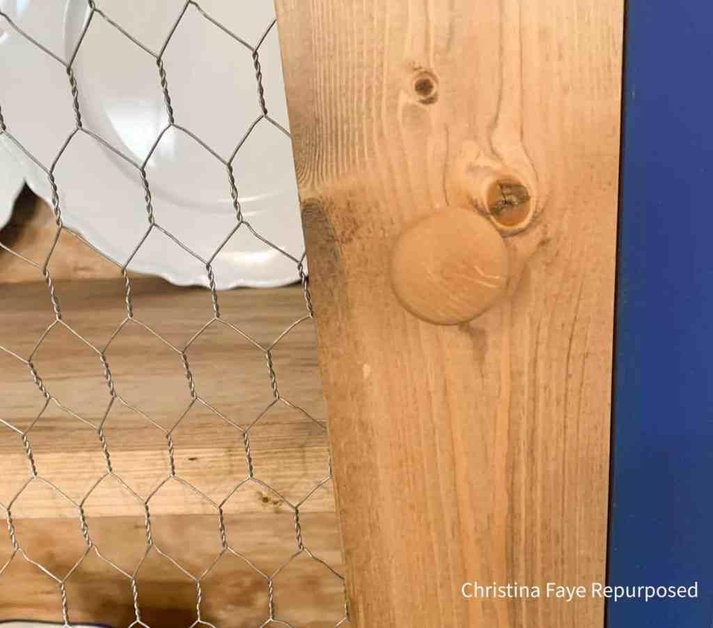 Wood knob