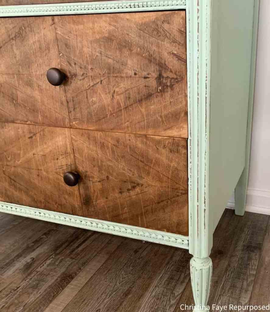 Vintage dresser knobs