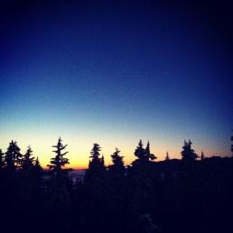 On Mount Seymour, BC - Fall 2011
