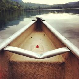 Canoeing Cultus Lake - June 2012