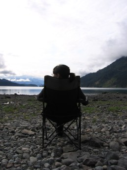 Camping with Robyn and Steve in Harrison, BC - 2005