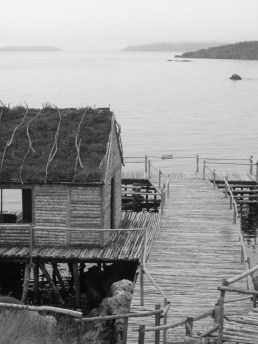 Random Passage film site, Trinity Bay, NL - Summer 2006