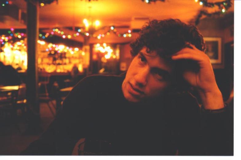 Brian at the Ship Inn Pub - New Year's Day 2003