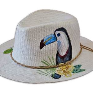 HANDMADE-HAT-TOUCAN-CHRISTINAK