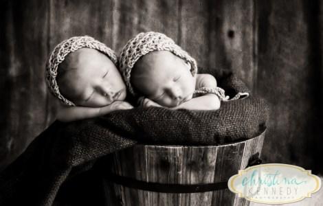 Bucket of Twins